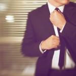 Stylischer Anzug
